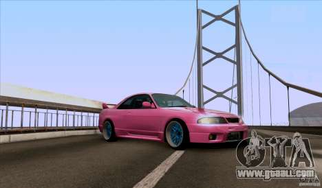 Nissan Skyline GTR 33 Fatlace for GTA San Andreas