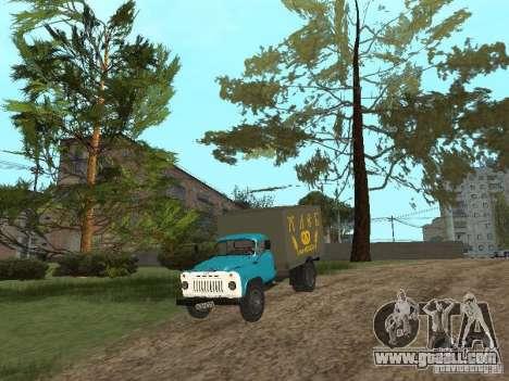 GAZ 52 for GTA San Andreas inner view
