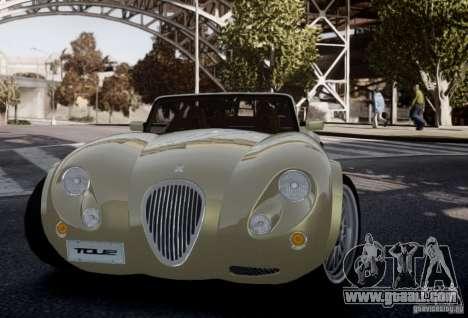Wiesmann MF3 Roadster Final for GTA 4 inner view