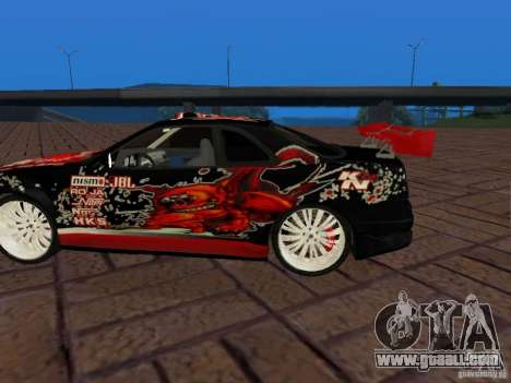 Nissan Skyline GT-R R34 Tunable for GTA San Andreas back view