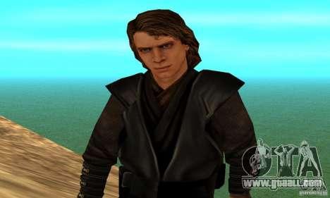 Anakin Skywalker for GTA San Andreas