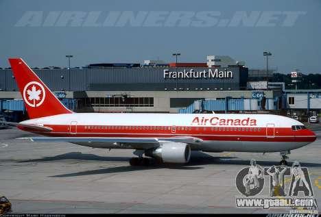 Loading screens Boeing 767 for GTA San Andreas sixth screenshot