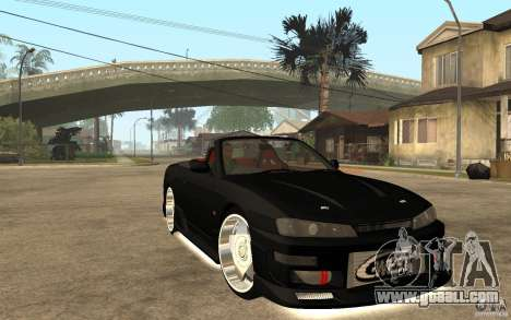 Nissan S14 HellaFlush for GTA San Andreas back view