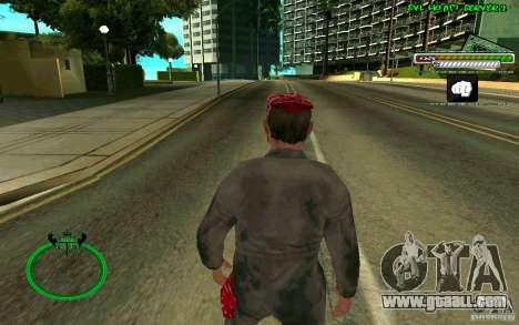 Mechanik HD Skin for GTA San Andreas third screenshot
