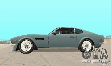 Aston Martin V8 for GTA San Andreas right view