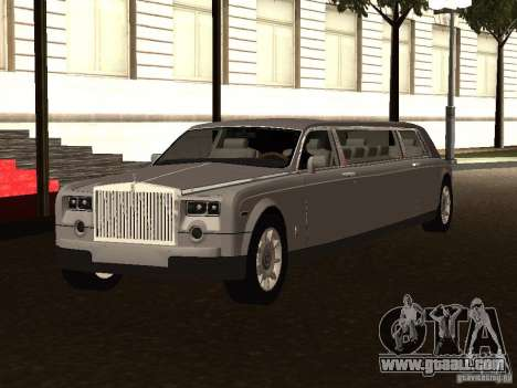 Rolls-Royce Phantom Limousine 2003 for GTA San Andreas