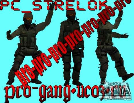 A. R. M. Y Skin Skin Military for GTA San Andreas