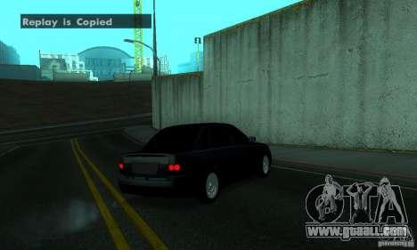 Lada Priora for GTA San Andreas left view