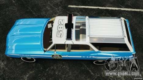 Oldsmobile Vista Cruiser 1972 Police v1.0 [ELS] for GTA 4 right view