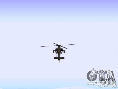 HD Hunter for GTA San Andreas right view