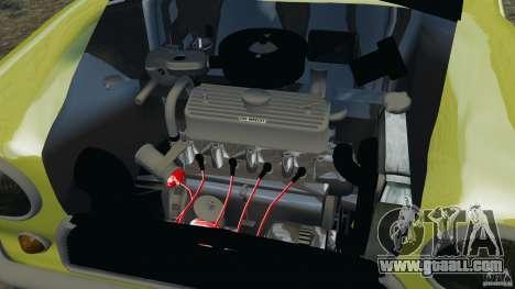Mini Cooper for GTA 4 inner view