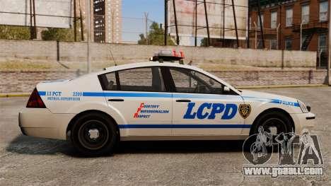Police Pinnacle ESPA for GTA 4 left view