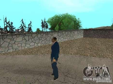 CJ Mafia Skin for GTA San Andreas seventh screenshot