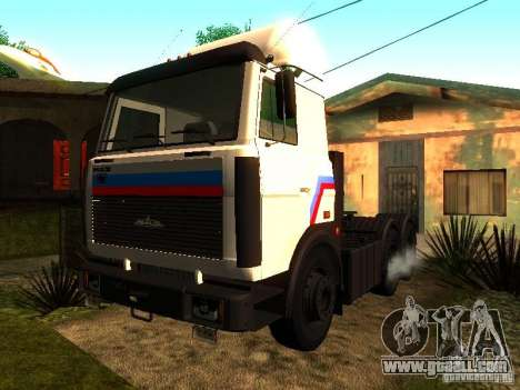 MAZ 642205 v1.0 for GTA San Andreas