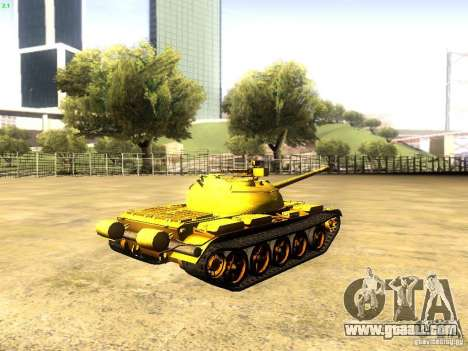 Type 59 v1 for GTA San Andreas left view