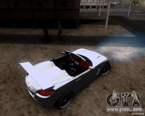 Saturn Sky Roadster for GTA San Andreas side view