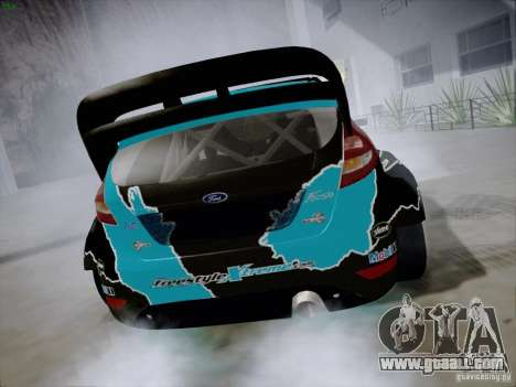 Ford Fiesta RS for GTA San Andreas right view