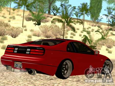 Nissan 300ZX JDM for GTA San Andreas back left view