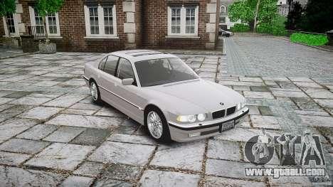 BMW 740i (E38) style 32 for GTA 4