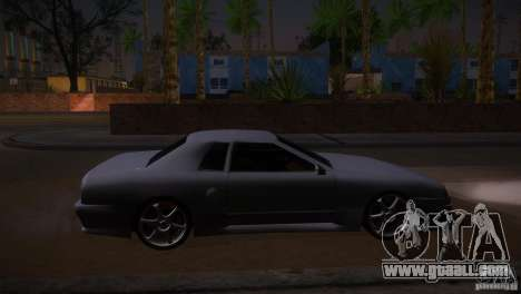Elegy Drift for GTA San Andreas left view