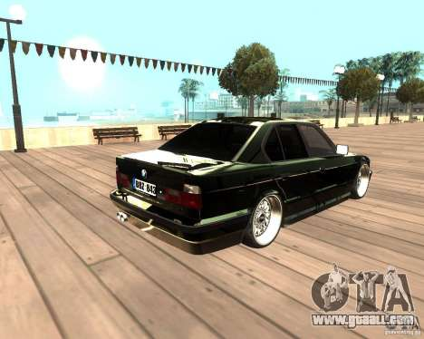 BMW M5 E34 Street for GTA San Andreas left view
