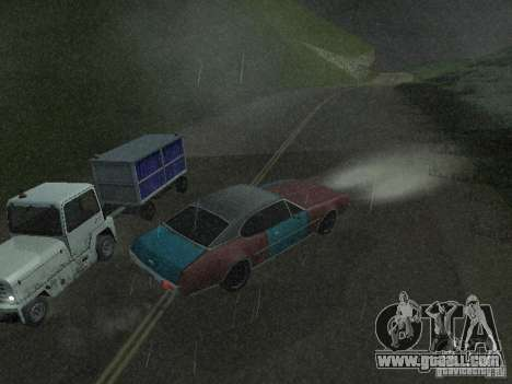 Cars with trailers for GTA San Andreas seventh screenshot