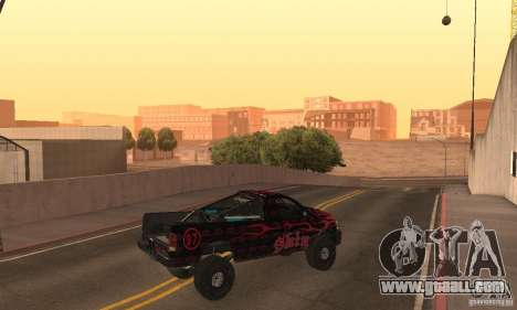 Dodge Power Wagon Paintjobs Pack 1 for GTA San Andreas back left view