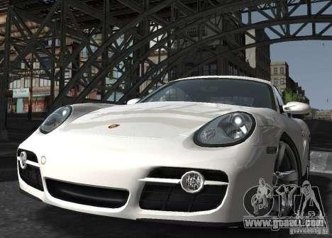 Porsche Cayman S1 for GTA 4 back view