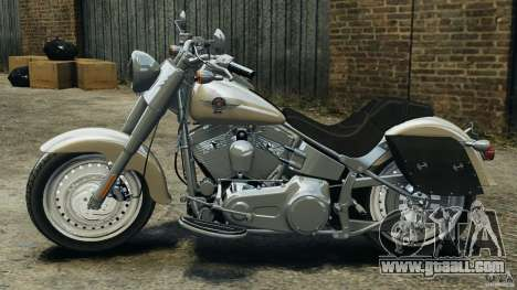 Harley Davidson Softail Fat Boy 2013 v1.0 for GTA 4 left view