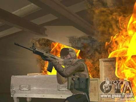 Military pilot for GTA San Andreas second screenshot