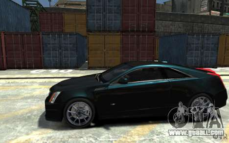 Cadillac CTS-V Coupe 2011 v.2.0 for GTA 4 left view