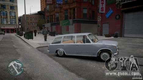 VAZ 2102 for GTA 4 back left view