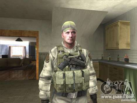 Dave from Resident Evil for GTA San Andreas