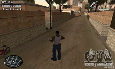 HUD by Neo40131 for GTA San Andreas second screenshot