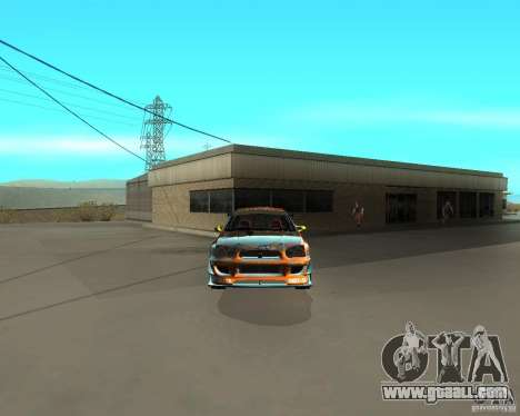 Subaru Impreza WRX Team Orange DRIFT SA-MP for GTA San Andreas right view