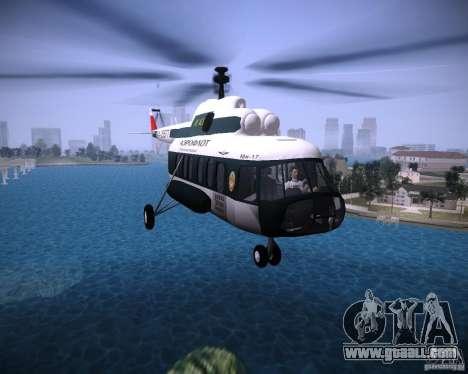 MI-8 for GTA Vice City left view