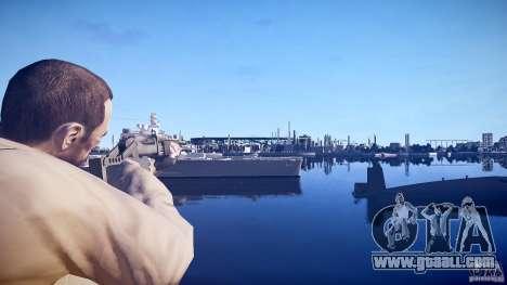 New shotgun for GTA 4 second screenshot