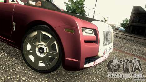 Rolls-Royce Ghost 2010 V1.0 for GTA San Andreas side view