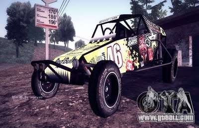 Buggy Monster energy for GTA San Andreas