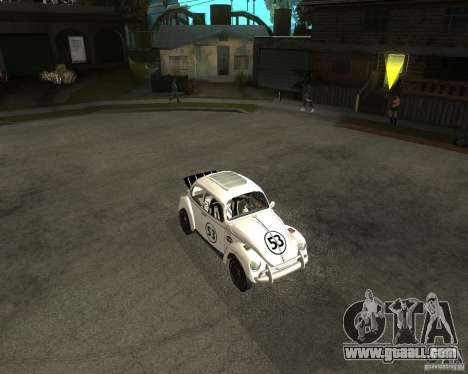 Volkswagen Beetle Herby for GTA San Andreas left view