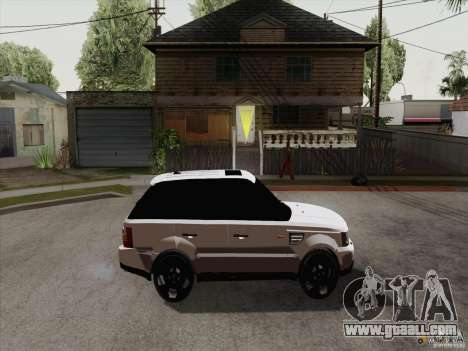 Range Rover Tuning for GTA San Andreas back left view