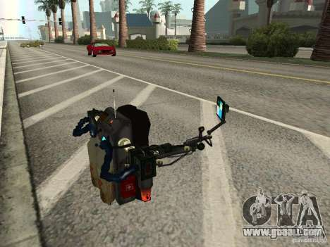 A New Jetpack for GTA San Andreas fifth screenshot