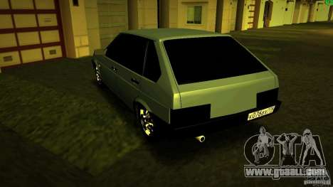 VAZ 2109 Light Tuning for GTA San Andreas right view