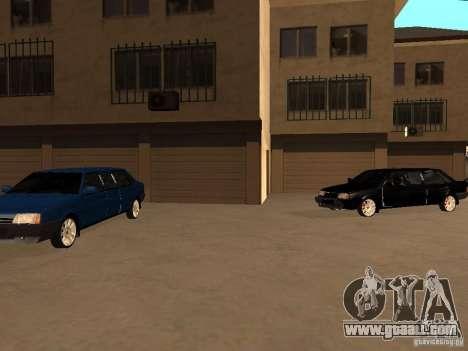 VAZ 21099 Limousine for GTA San Andreas upper view