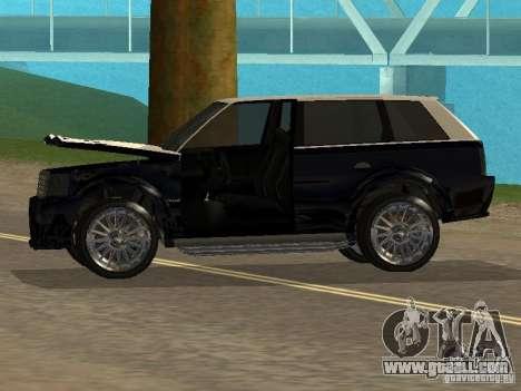 Huntley in GTA IV for GTA San Andreas back view