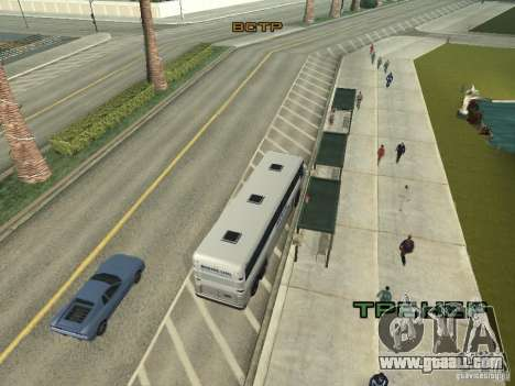 Bus line in Las Venturas for GTA San Andreas seventh screenshot
