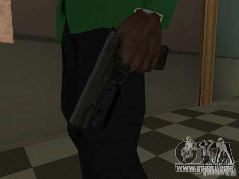 Colt 1911 for GTA San Andreas third screenshot