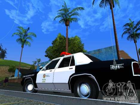 Ford Crown Victoria LTD 1992 LSPD for GTA San Andreas back view