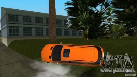 Mercedes-Benz ML 500 for GTA Vice City upper view
