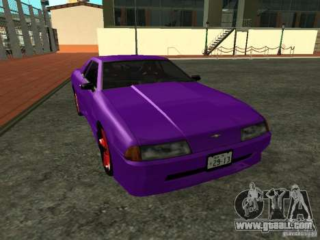 Elegy 29-13 for GTA San Andreas left view